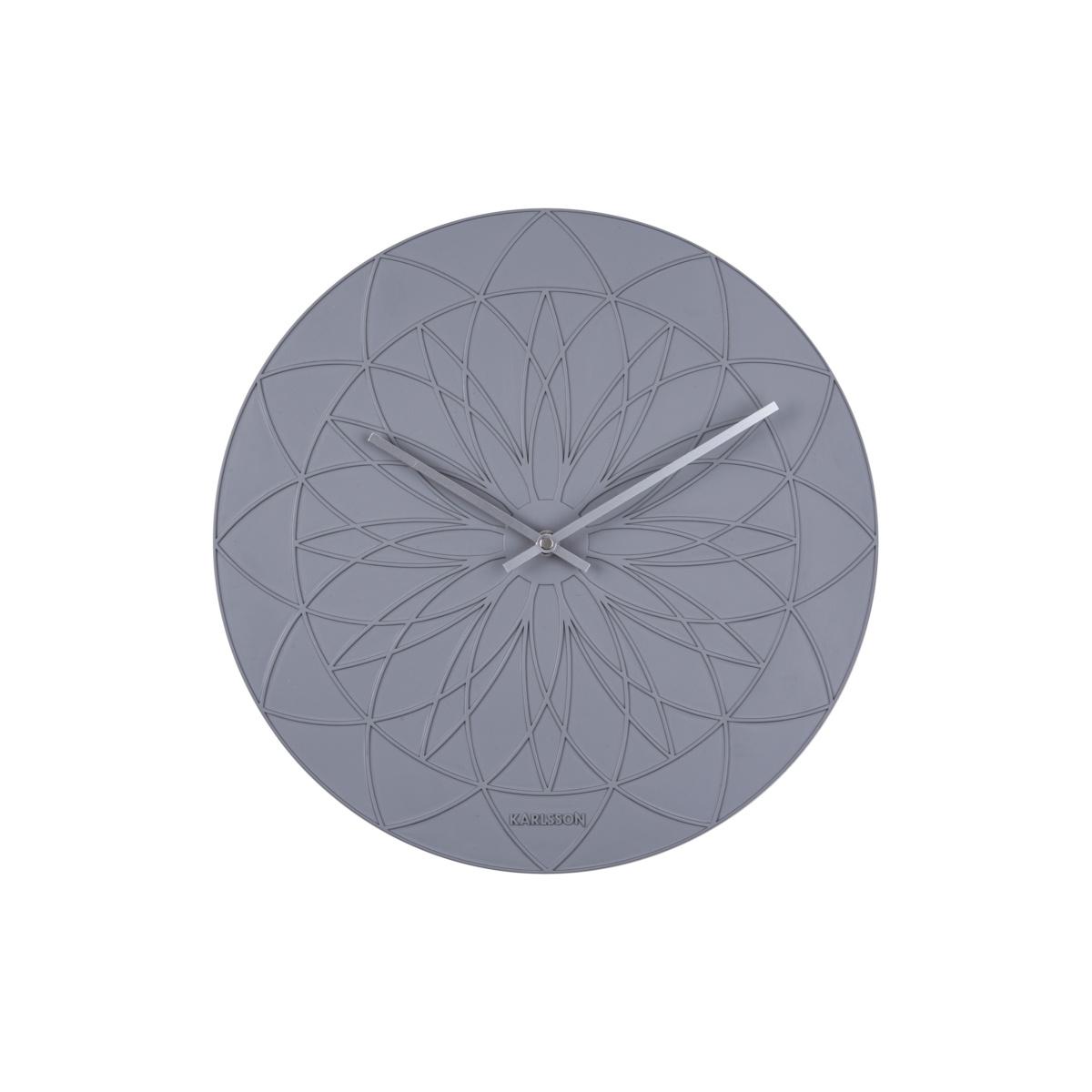 Karlsson Dizajnové nástenné hodiny 5836GY Karlsson 35cm