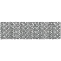 Běhoun Zara šedá, 40 x 140 cm