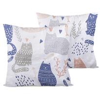 4home Obliečka na vankúšik Nordic Cats
