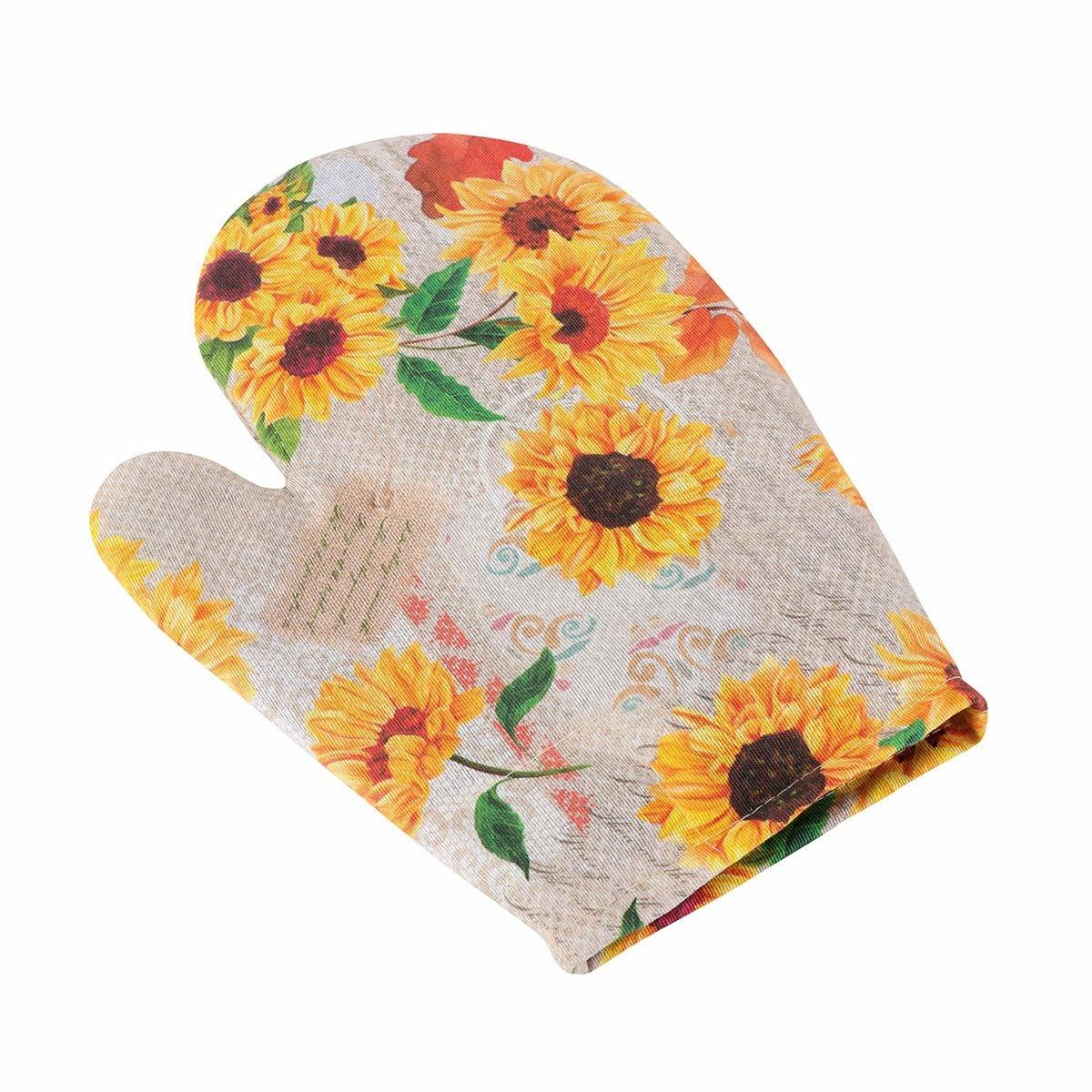 Mănușă Bellatex Ema Floarea soarelui, 28 x 18 cm imagine 2021 e4home.ro