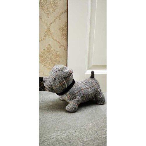 Textilná zarážka do dverí Pes, 28 cm
