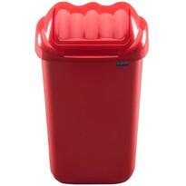 Kosz na śmieci FALA 15 l, czerwony
