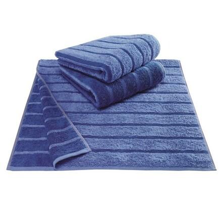 Cawö frottier ručník Tonic modrý, 50 x 100 cm