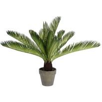 Umelá Palma v kvetináči svetlozelená, 50 cm