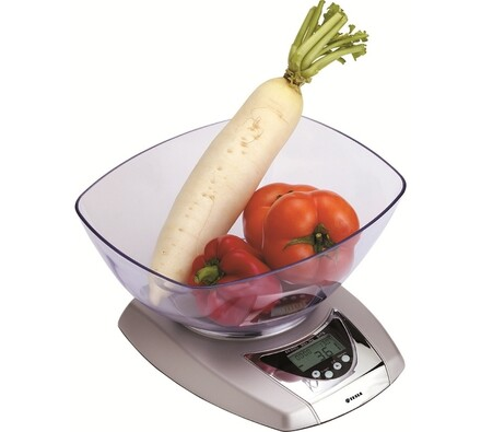 Kuchyňská váha digitální, Tesla KV 501, bílá