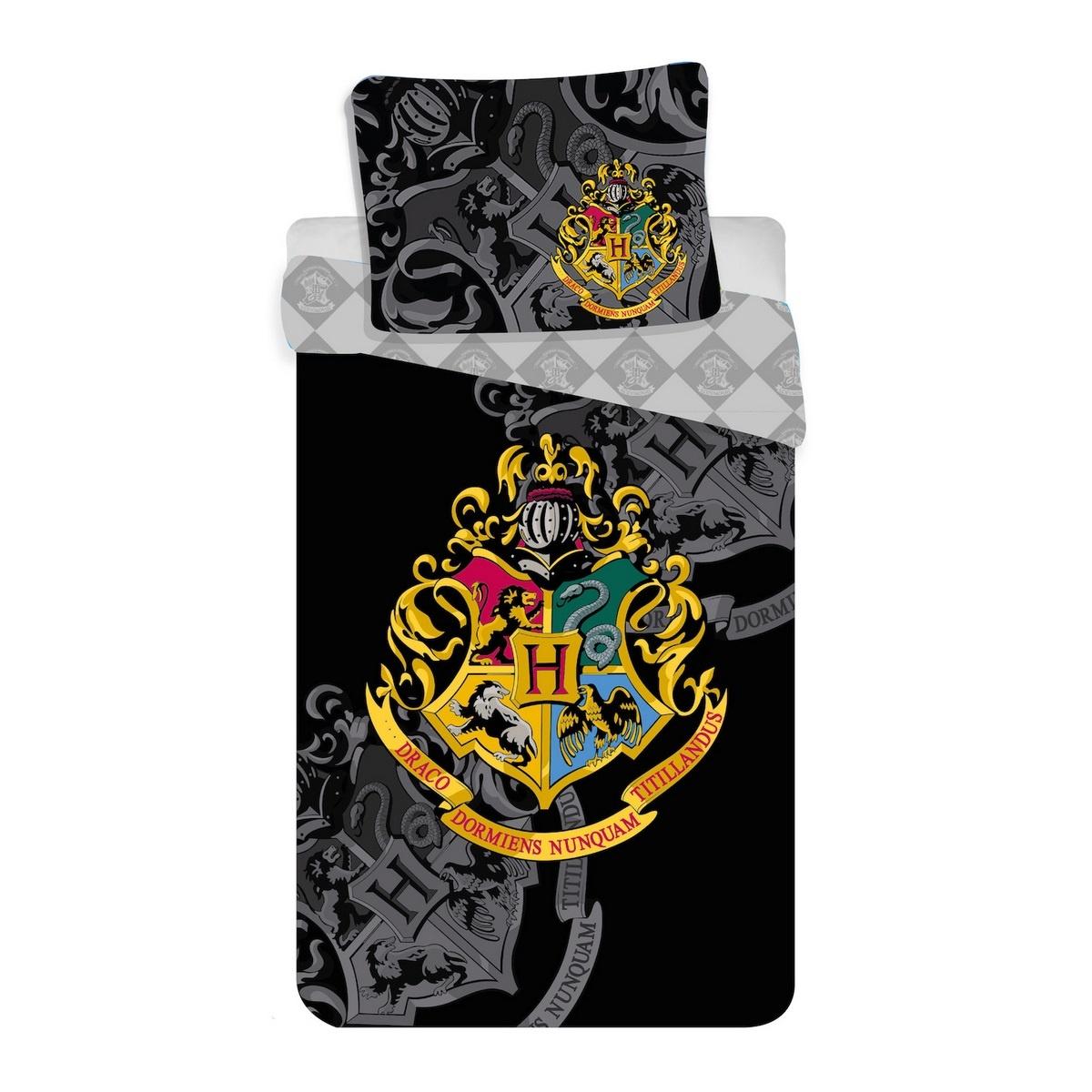 Jerry Fabrics Bavlněné povlečení Harry Potter, 140 x 200 cm, 70 x 90 cm