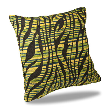 Povlak na polštářek Nairobi zelená, 40 x 40 cm