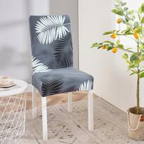 Husă multielastică scaun 4Home Noir, 45 - 50 cm, set 2 buc.