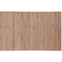 Kúpeľňová predložka Bamboo, sivo-hnedá