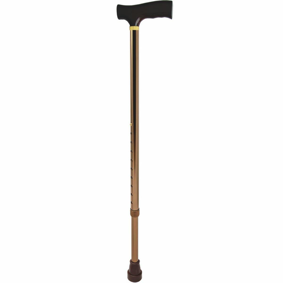 Modom Vychádzková nastaviteľná palica hnedá, 96 cm
