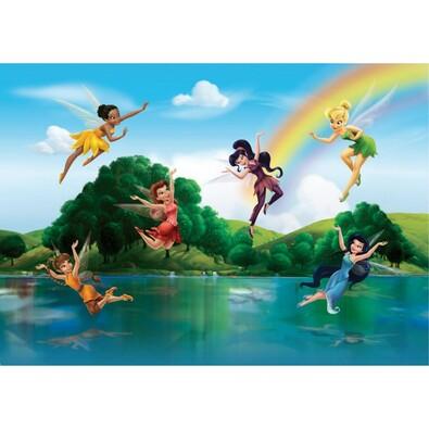 Fototapeta dětská DISNEY Fairies 360 x 254 cm