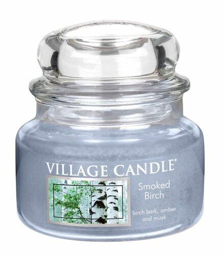 Village Candle Vonná svíčka ve skle, Bříza - Smoked birch, 269 g, 269 g