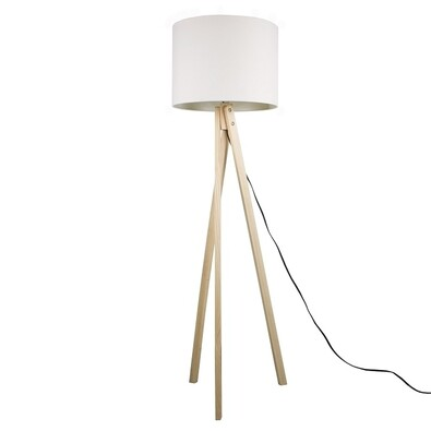 Stojací lampa Lila 6, bílá
