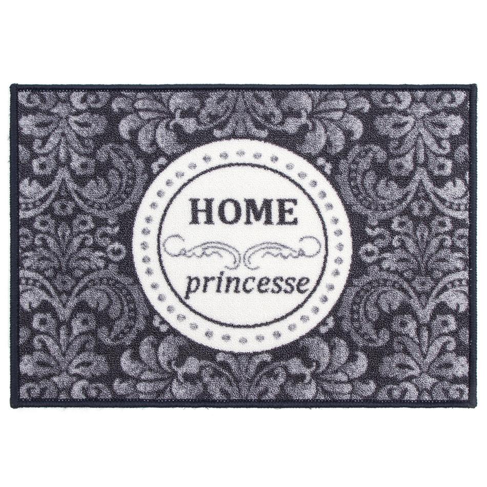 Vnitřní rohožka Home Princess šedá, 50 x 70 cm