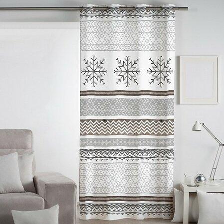 Matějovský márkájú Snow sötétítő függöny, 140 x 260 cm