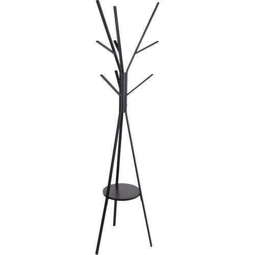 Moderný kovový stojan s 9 háčikmi, 180 cm