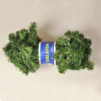 Girlanda, 270 cm, zelená