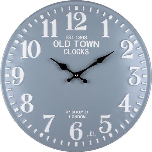 Lowell 21506 Designové nástěnné hodiny pr. 40 cm
