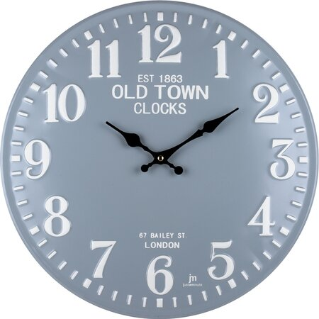 Lowell 21506 Designové nástenné hodiny pr. 40 cm