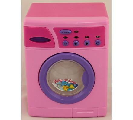 Pračka na baterie pro děti, růžová