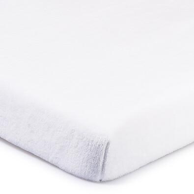 4Home prostěradlo mikroflanel bílá, 180 x 200 cm