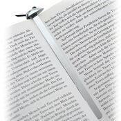 Záložka do knihy 13 cm, stříbrná