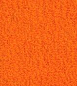 Napínací froté prostěradlo, oranžová, 90 x 200 cm