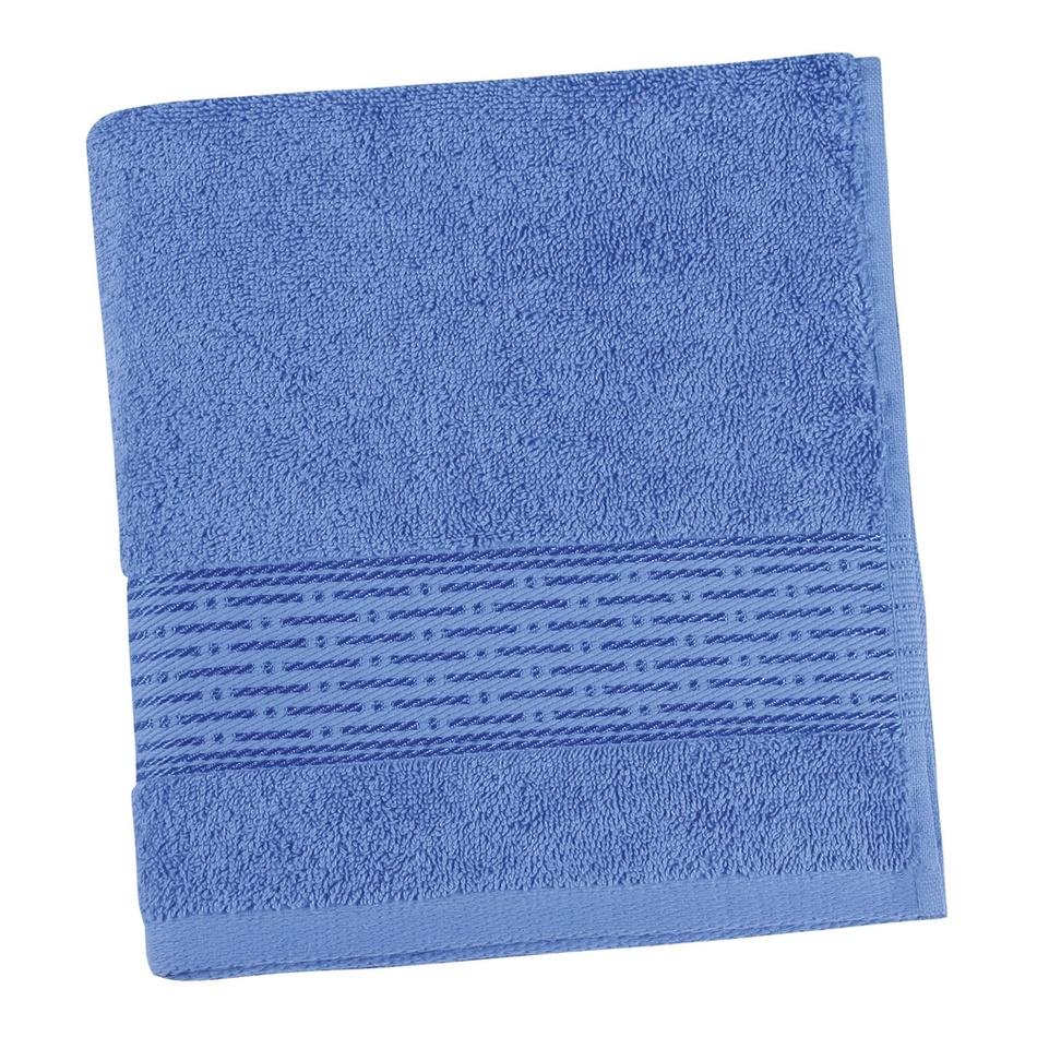Bellatex Froté ručník Kamilka proužek modrá, 50 x 100 cm