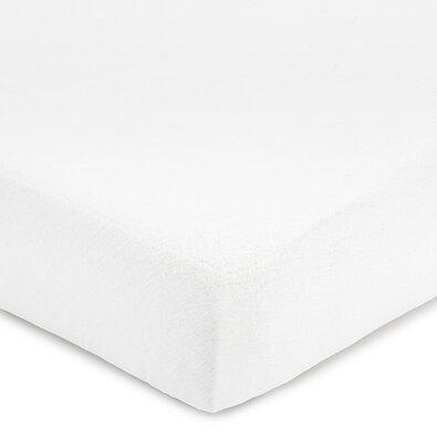 Dětské prostěradlo tkané hotelové s gumou bílá, 60 x 120 cm