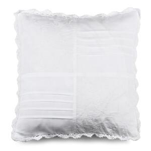 Povlak na polštářek plátěný STP bílá, 40 x 40 cm
