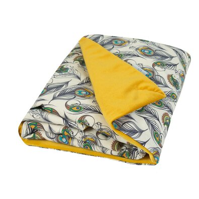 Dětská deka Velvet béžová, 75 x 100 cm