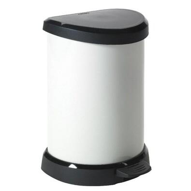 Curver Decobin odpadkový koš 20 l krémová