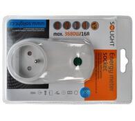 Solight Přídavná zásuvka pro měřič spotřeby el.energie bílý