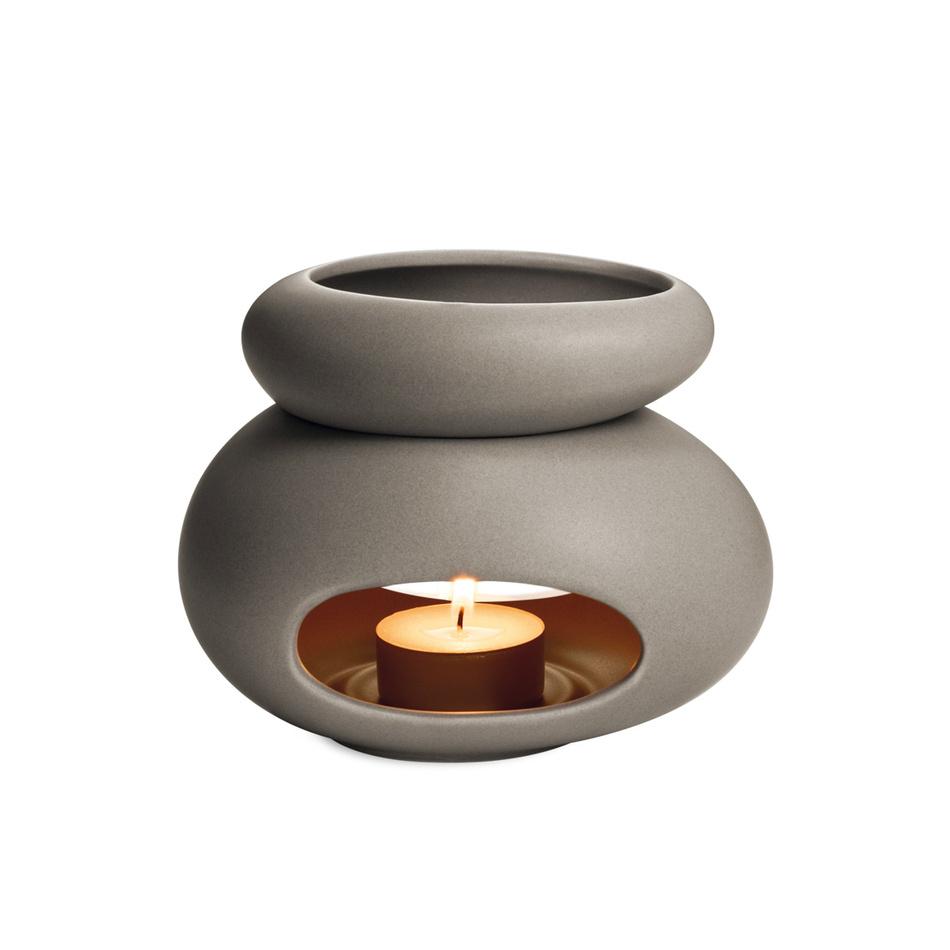 Produktové foto Tescoma Fancy Home 906832 aroma lampa Stones, šedá