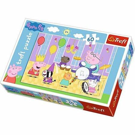 Trefl Puzzle Prasiatko Peppa Na plese, 60 dielikov
