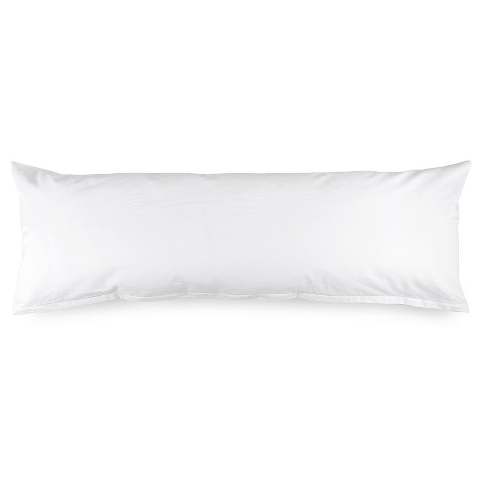 Produktové foto 4Home Povlak na Relaxační polštář Náhradní manžel bílá, 45 x 120 cm
