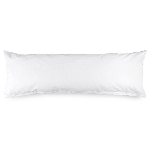 4Home povlak na Relaxační polštář Náhradní manžel bílá, 50 x 150 cm