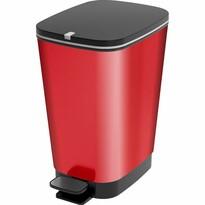 KIS Coș de gunoi Chic Bin M, 35 l, roșu