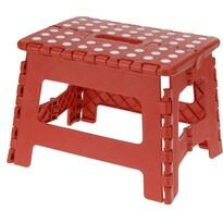 Koopman Skládací stolička červená, 29 x 22 cm