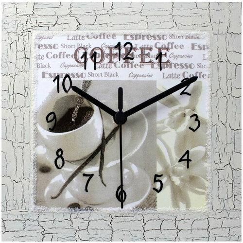 Nástenné hodiny káva