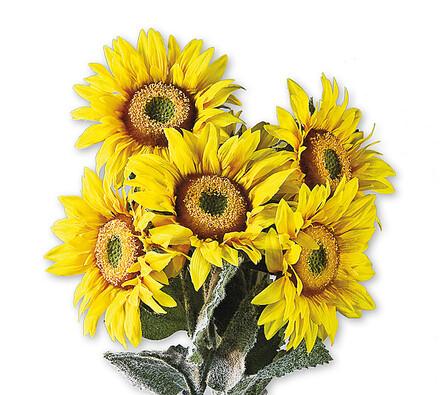 Umělé květiny slunečnice, 6 ks