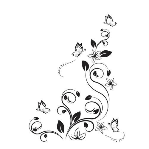 Samolepiaca dekorácia ako tetovanie