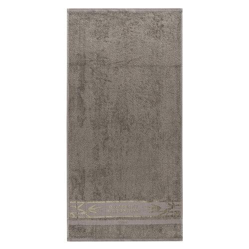 Set prosoape 4Home Bamboo Premium gri, 70 x 140 cm, 50 x 100 cm