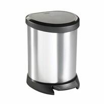 Curver Odpadkový koš Decobin 5 l, stříbrná