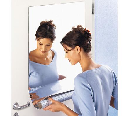 Zrcadlová fólie, samolepicí