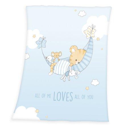 Dětská deka Little Tiger, 75 x 100 cm