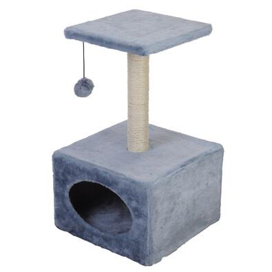Škrábací strom pro kočky, šedá