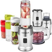 Concept SM3391 Fresh&Nutri multifunkčný mixér, 700 W + fľaše 2x 570 ml + 400 ml, biela