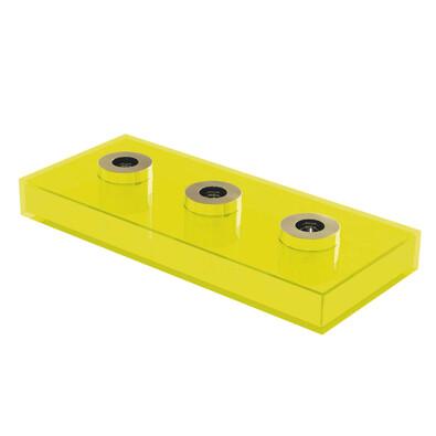 Svícen Long Lighz, žlutý