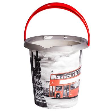 Kbelík s dekorem London bus, 12l